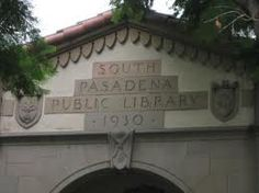 The library in South Pasadena. A huge house donated for that purpose - it was lovely. I spent many happy hours there.