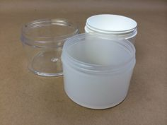 Thick Wall Injection Molded Plastic Jars for Cosmetics and Pharmaceutical Industries