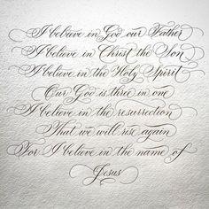 """988 tykkäystä, 77 kommenttia - Suzanne Cunningham (@suzcunningham) Instagramissa: """"Hallelujah, He is Risen! ✝ #jesus #resurrection #easter #stone #tomb #calligraphy #flourish…"""""""