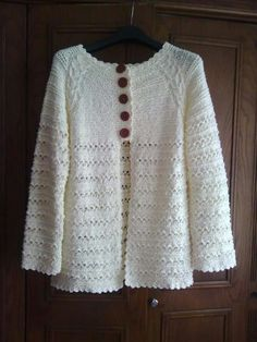 Bayan ceket Helpful Hints, Cardigans, Sweaters, Crochet, Style, Fashion, Crochet Doll Clothes, Blouses, Swag