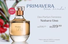 A Primavera e suas surpresas !! Aproveite !! #promocao #natura #perfume #mulheres #cheirobom #suzanasantiagonatura #ficaadica