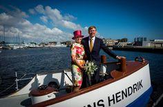 De Koning en Koningin bezoeken de kop van Noord-Holland