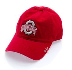 Ohio State Buckeyes Hat Scarlet with Velcro Closure