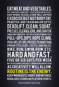 World class fitness in 100 words #crossfit