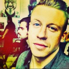 Macklemore. Hot in a witty, smart, incredibly talented kind of way. I'm definitely picking up what he is putting down :)
