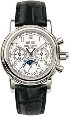 Patek Philippe Grand Complications Perpetual Calendar Moonphase Chronograph (Style No: 5004P-021) from SwissLuxury.Com Our Price:$257,500.00