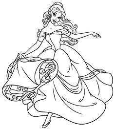 34 Best Disney Princess Images Disney Princess Coloring Pages