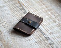 Wallets for men handmade mens leather wallet mens wallet by Handor