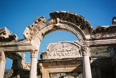 The ruins of Ephesus near Kusadasi, Turkey.