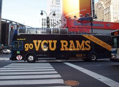 VCU busses spotted in NYC!!