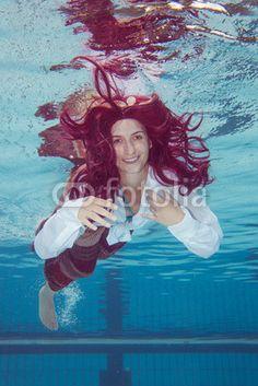 Nixe Unterwasser