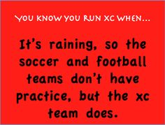 When is XC canceled? hmm Never..
