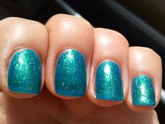 NYX Girls - Sea of Cortez :: This one's not opaque but builds beautifully in 3 coats or you can layer it over black for some punch. Another dupe forOPI Catch Me In Your Net, Zoya Charla (the original I believe), Orly Halley's Comet, Essence Choose Me!, Jesse's Girl Glee, Accessorize Mermaid, NYX Girls Sea of Cortez, Jesse's Girl Glee & a near-dupe in Wet n Wild Teal of Fortune. I have WnW & although it is more opaque, the brush is horrid so I use the brush from the NYX!