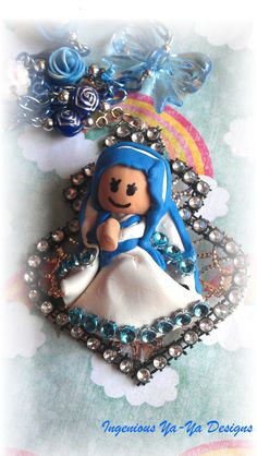 3D Clay Blessed Mother Teresa of Calcutta by 2INGENIOUS on Etsy, $29.88