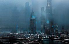 Cyberpunk Atmosphere. C-City.