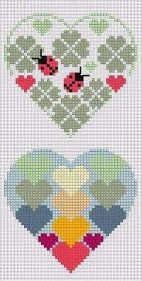 coração com joaninhas