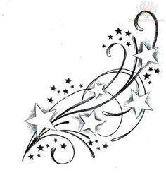 star and moon tattoo design - Google Search