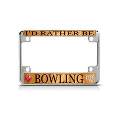 ARKANSAS I/'D RATHER BE IN License Plate Frame