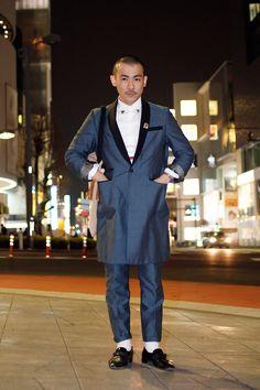 modern pimp.  【STREET SNAP】YORUKO BANZAI | ストリートスナップ | 原宿(東京) |