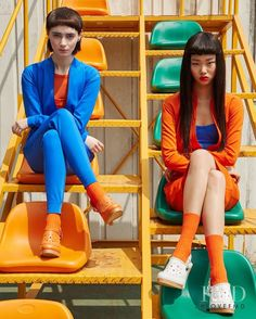 Bae Yoon Young in Vogue Korea with Yoon Young Bae Fashion Editorial Vogue Fashion, Fashion Shoot, Editorial Fashion, High Fashion, Vogue Editorial, India Fashion, Ideas Para Photoshoot, Photoshoot Inspiration, Ritter Sport