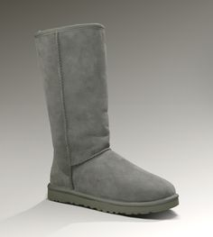 Ugg Womens Classic Tall Grey - UGGs Outlet With Elegant Design, Free Shipping, Free Tax, Door to door delivery