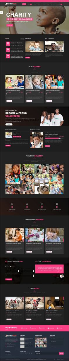 Bountypress is clean and modern #design responsive HTML5 #template for #charity, crowdfunding and #nonprofit organizations website download now > https://themeforest.net/item/bountypress-nonprofit-crowdfunding-charity-html5-template/19879685?ref=Datasata