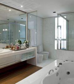 Minha Querida Reforma: Um novo piso para um velho banheiro!