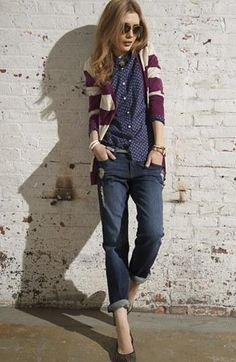Purple is my favorite color for fall - I want this whole look. #nsale #nordstrom