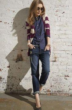 Cool & classic fall fashion.