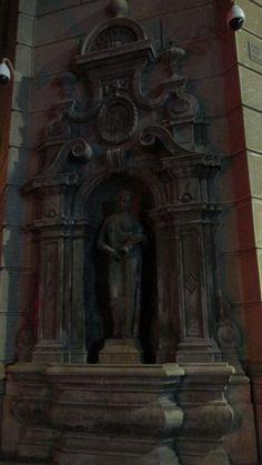 Estatua Ministerio de Hacienda (Santiago Centro).