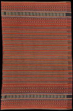 Ikat from Lakor, Moluccas, Indonesia