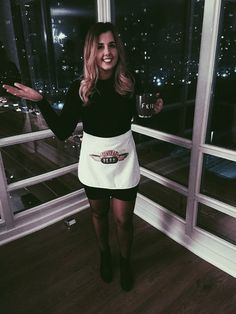 "DIY Halloween costume ""The One Where I Dressed As Rachel"" Friends - Rachel Green costume Jennifer Aniston"