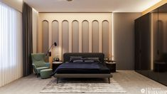 Bedroom Furniture Design, Master Bedroom Design, Modern Bedroom, Bedroom Wall, Bedroom Decor, Bedroom Designs, Bed Room, Bedroom Ideas, Indian Home Interior