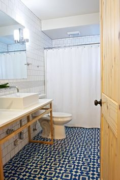 Go Big! 15 Fabulously Tiled Bathrooms from Real-Life Homes