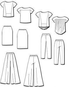 Pattern Review: Vogue 8938 - Five Easy Pieces - Threads