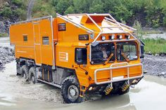 MAN KAT -  Mobile Expedition vehicle http://pinterest.com/quinnproperties/ http://www.tumblr.com/blog/patrickquinnproperties
