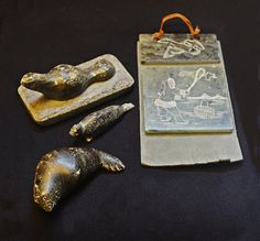 Vintage Soapstone Collection Miniature Soapstone by Collectitorium