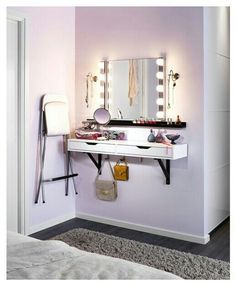 Floating corner shelves love the corner pull out drawer Corner bathroom cabinet mirror ikea