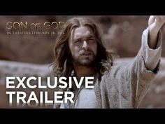In theaters Friday, Feb. 28th!!  Check out the trailer for the groundbreaking film, Son Of God!