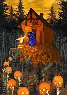 Russian Folk, Russian Art, Fantasy Creatures, Mythical Creatures, Illustrations, Illustration Art, Supernatural Beings, Fairytale Art, Gods And Goddesses