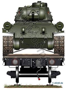 Engines of the Red Army in WW2 - T-34