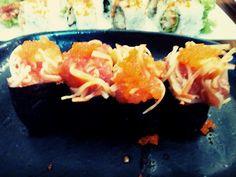 Gunkan Salmon