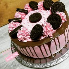 Oreo, Mousse, Birthday Cake, Sweet, Desserts, Cakes, Food, Candy, Tailgate Desserts