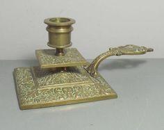 Ottone antico francese candeliere/francese camera candela titolare/francese candeliere/ottone Decor/francese Decor/ottone camera/regali per la casa