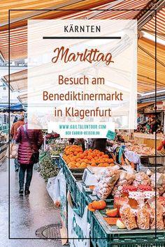 Markttag am #Benediktinermarkt in #Klagenfurt. Alles über den Markt im Herzen der Stadt und was du in Klagenfurt im #Winter noch alles erleben kannst gibt es in diesem Beitrag nachzulesen.