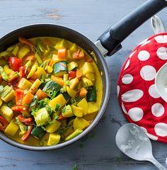Rezept: Gemüsecurry mit Jasminreis bei for me | For me online Germany