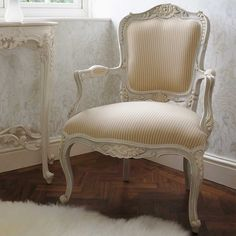 Bonaparte French Armchair by The French Bedroom Company