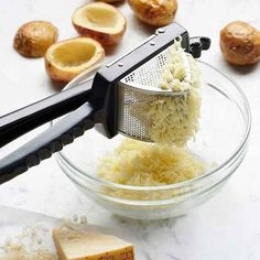 A potato ricer for making the smooth mashed potatoes of your dreams.