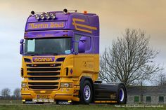 Scania R450 Topline voor Martin Snel