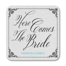 Bride Damask - Coaster
